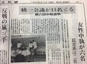 1967年6月全学自治会選挙